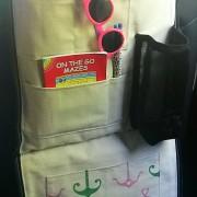 seabrook pink as a backseat organizer